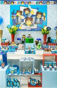 Kit Festa Authentic Games Para 24 Pessoas | C/401 Itens