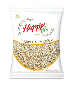 Quinoa Real Em Flocos 200g Happy Life