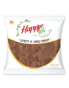 Semente de Linhaça Marrom 200g Happy Life