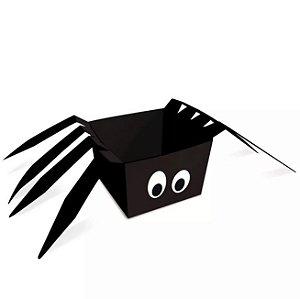 Cachepot Aranha Halloween C/8