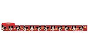 Fita de Cetim 5m x 15mm Mickey