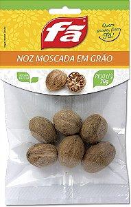 Noz Moscada Em Grão 30g | Junco