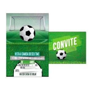 Convite Futebol C/8 | Junco