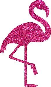 Painel Flamingo Silhueta Modelo 2 | E.V.A.