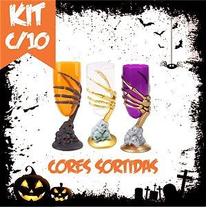 Kit Taça Halloween Média | Cores Sortidas | C/10