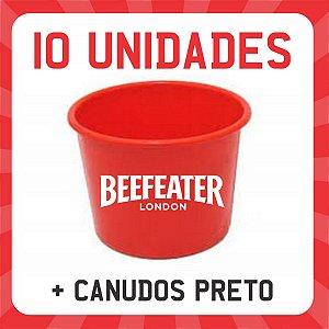 Balde p/ Drink Beefeater Personalizado 1500ml | 10 Unidades