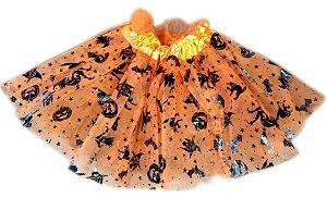Saia Tule Infantil Halloween | 30cm