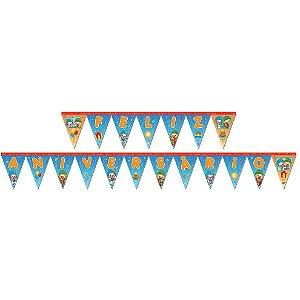 Faixa Feliz Aniversário Patati Patatá Parabéns