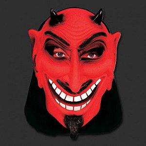 Máscara Diabinho Sarcástico | Com Capuz