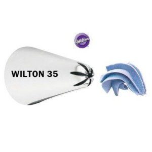 Bico de Confeitar Wilton Estrela Fechada 35
