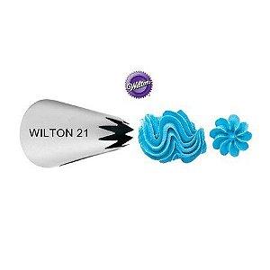 Bico de Confeitar Wilton Pitanga Aberta 21