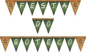 Faixa Decorativa/Bandeirinha Festa do Boteco