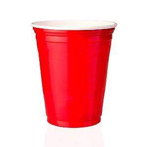 1000 Unidades Red Cup, Copo Vermelho | 400ml