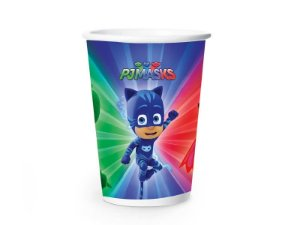 Copo PJ Masks de Papel 180ml C/8