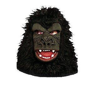 Máscara Gorila com Pelo
