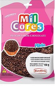 Flocos Macios de Chocolate Mavalério - 150g