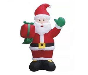 Papai Noel Inflável Natal 3 Metros