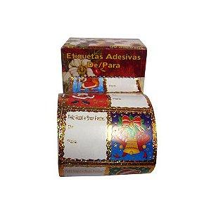Etiqueta Adesiva De/Para Natal C/60