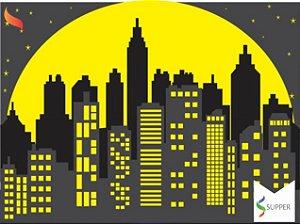 Painel Grande de TNT | Cidade do Batman