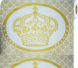 Painel Grande de TNT | Coroa Dourada