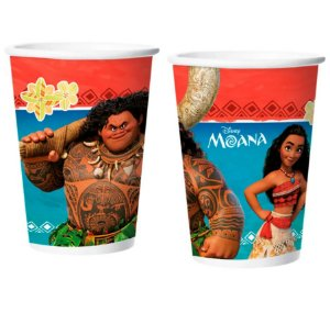 Copo de Papel Moana 180ml | C/8