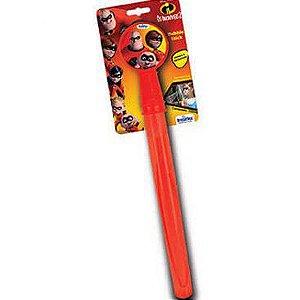 Lança Bolhas de Sabão Bubble Stick Os Incríveis 130ml