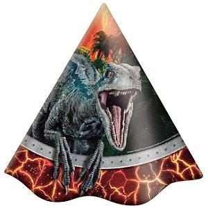 Chapéu de Aniversário Jurassic World C/8