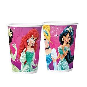 Copo de Papel Princesas Debutante 180ml C/8