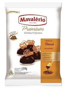 Gotas de Chocolate Blend Cobertura Fracionada 1kg | Kit C/10