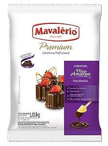 Gotas de Chocolate Meio Amargo Cobertura Fracionada 1kg | Kit C/2