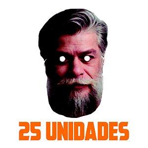 Máscara Fábio Assunção Carnaval | Kit com 25 Unidades