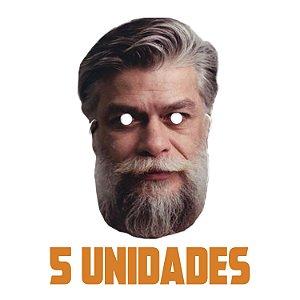 Máscara Fábio Assunção Carnaval | Kit com 5 Unidades