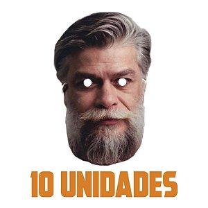 Máscara Fábio Assunção Carnaval | Kit com 10 Unidades