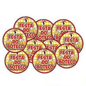 Porta Copo Festa Do Boteco C/10