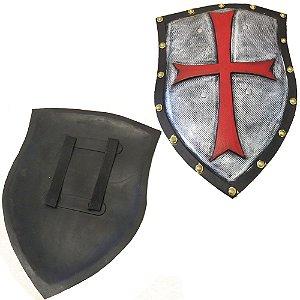 Escudo Medieval Cruz Luxo