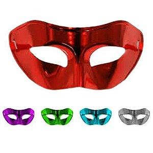 Máscara Veneziana Lisa | Cores Sortidas