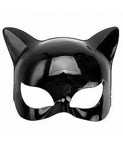 Máscara Mulher Gato Plástica C/12