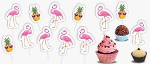Palito Decorativo Flamingo