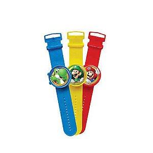 Relógio Mario Bros Unitário | Brasilflex
