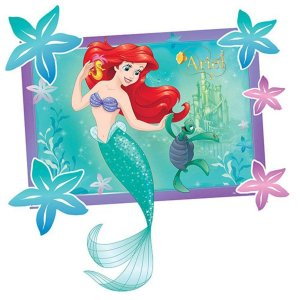 Kit Decorativo Ariel Pequena Sereia | Regina