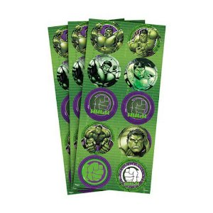 Adesivo Redondo Hulk Animação | Regina