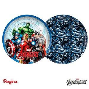 Prato Vingadores Avengers C/8 | Regina