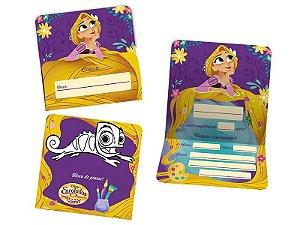 Convite Rapunzel C/8   Regina