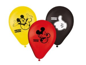 Balão / Bexiga Mickey N9 C/25 | Regina