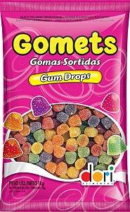 Kit Bala de Goma Sortidas Gomets 1kg C/5