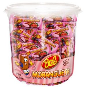 Kit Bombom Com Recheio De Morango Moranguete | C/250