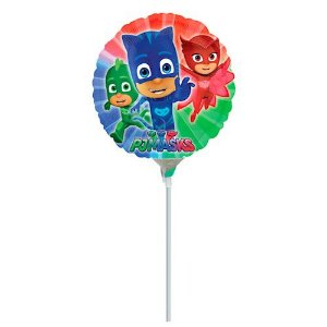 Kit Balão Metalizado Air Filled Pj Masks C/3 | Regina