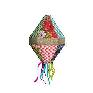 Balão de Papel Festa Junina C/5 | Festcolor