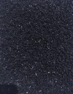 Grama Sintetica 12mm Preto largura 2,00m