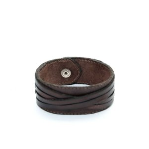 Bracelete de couro Cordas